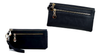 Women's Dull-Polish Leather Zipper Wallet