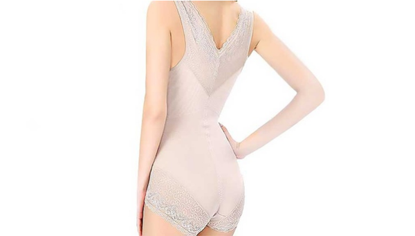 Lace Trim Control Body Suit
