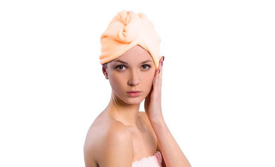 Microfiber Hair Drying Cap 3 Pack