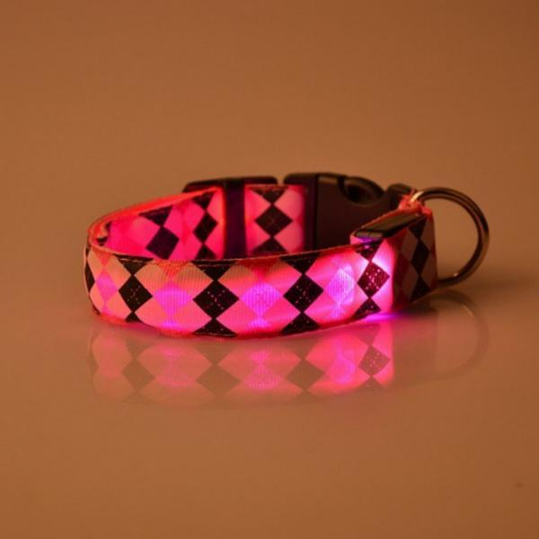 Pet Night LED Safety Adjustable Collars