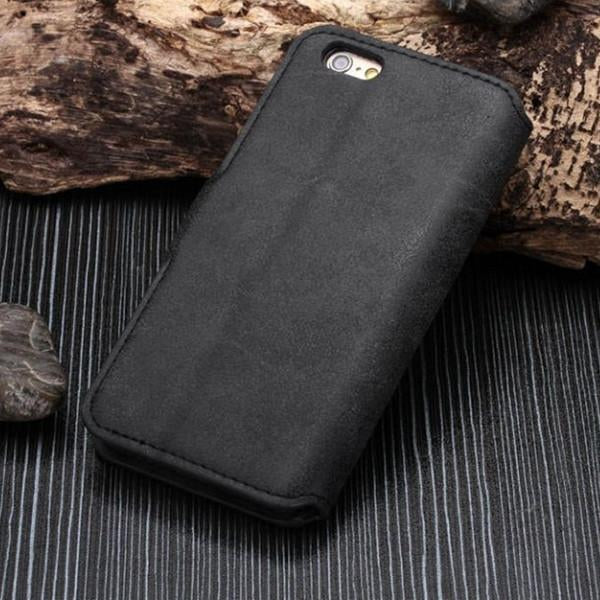 PU Leather Wallet Commuter Case for iPhone 6/6s and 6/6s Plus