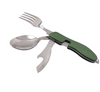 3-in-1 Stainless Steel Folding Spoon, Fork and Knife - TrendiaStore