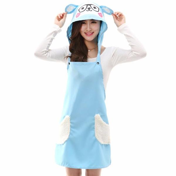 Trend Matters Lamb Cooking Apron with Hood