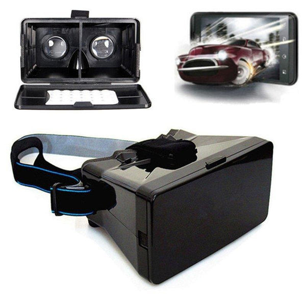 Accessories - 3D Video Glasses Head Mount Plastic Virtual Reality Headset