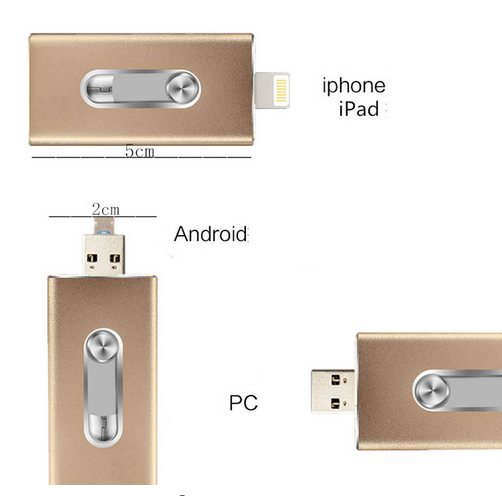 dual iphone android flash drive