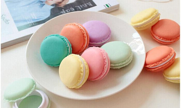 6-Pcs Mini Macaron Jewelry Box Pill Storage Box