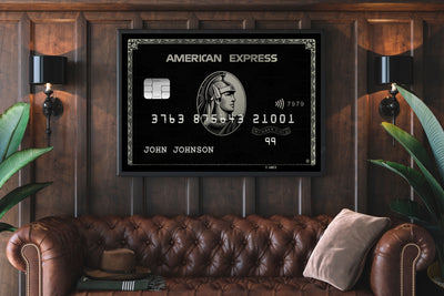 Motivational Canvas - The Personalized Black Amex