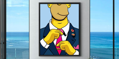 Homers Promotion - Not Your Average Wall Art