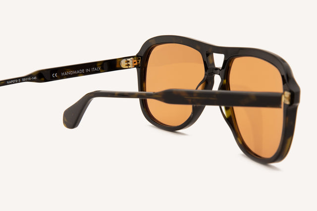 Naples - Dark Brown Tortoise Limited