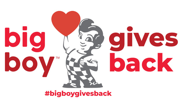 Big Boy Gives Back Donation