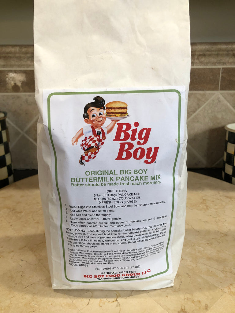 Big Boy Pancake Mix