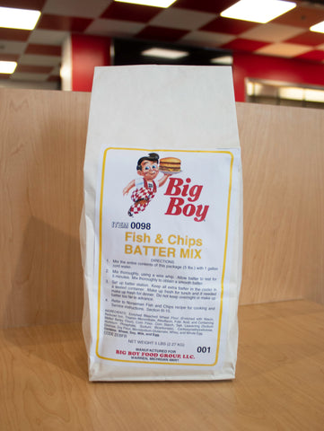 Big Boy Fish Fry Mix
