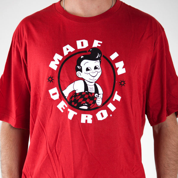 Made In Detroit Big Boy T-shirt