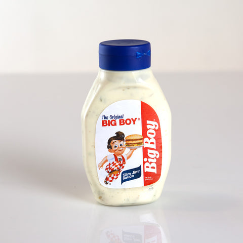 "Big Boy Slim Jim Sauce <p><small style=""font-size:13px"">Michigan Recipe</small></p>"