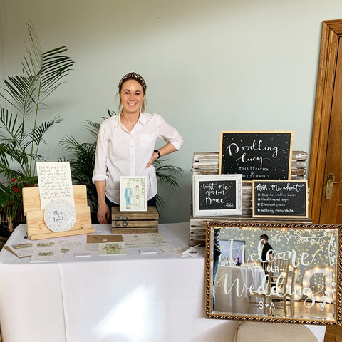 Lucy at Wedding Fayre