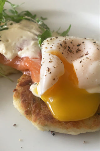 eggs with salmon