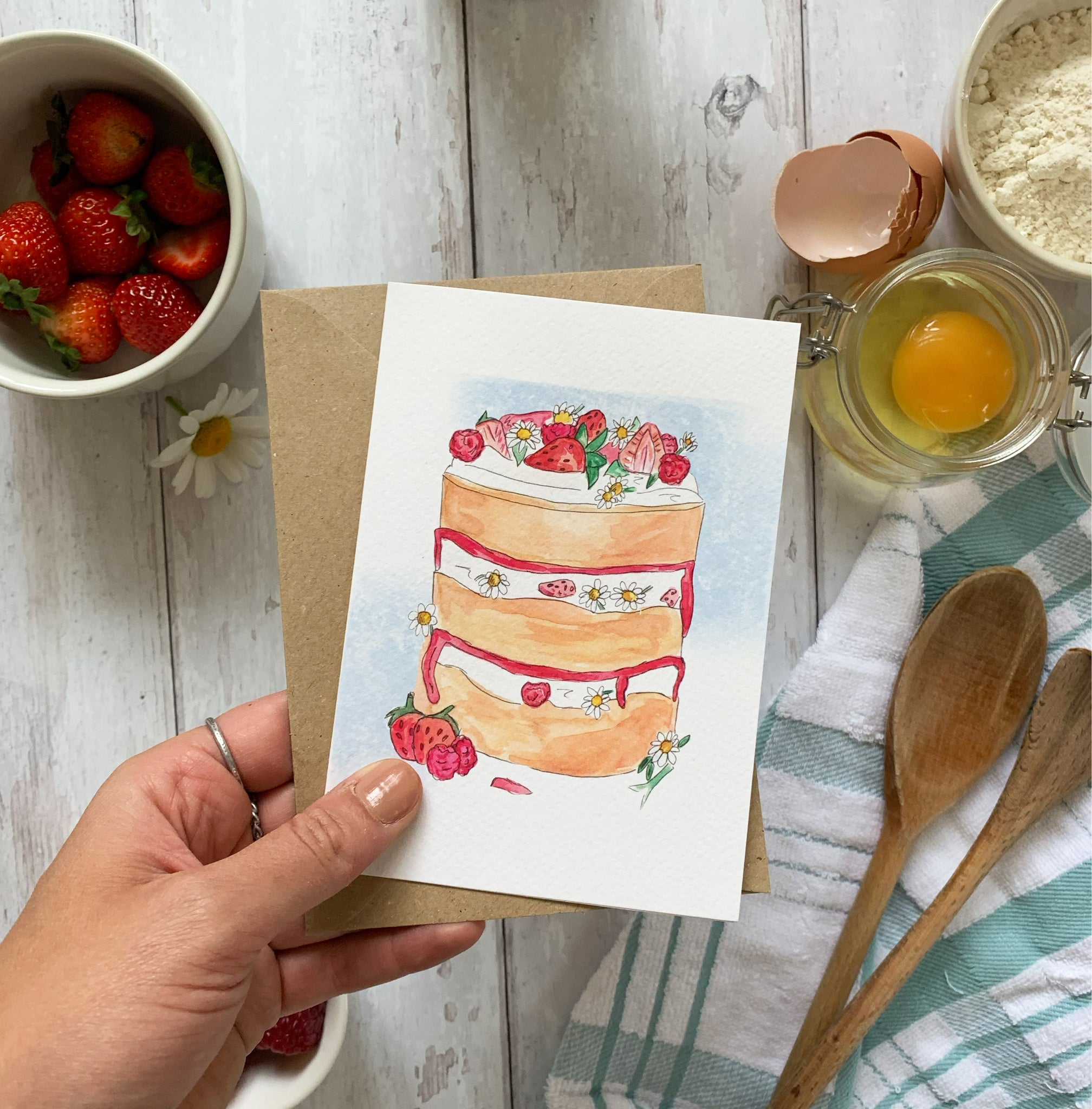 Jolly Splendid Cake Card