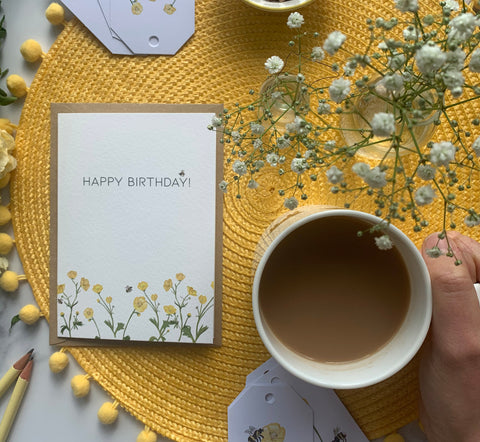 Birthday Buttercup Card