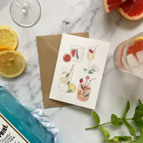 Cocktail Classics Card