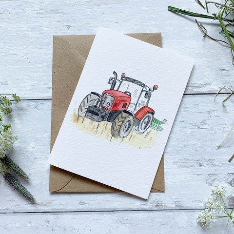 The Red Tractor Card