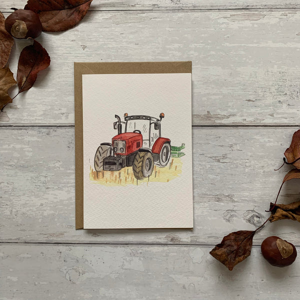 The Blue, Red & Green Tractor Card Pack