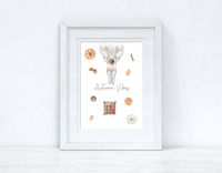Autumn Vibes Autumn Seasonal Wall Home Decor Print