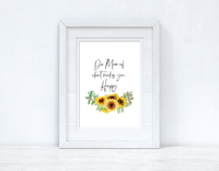 Do More Of What Makes You Happy Sunflower Spring Seasonal Wall Home Decor Print