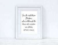 Twas The Night Before Christmas Seasonal Wall Home Decor Print