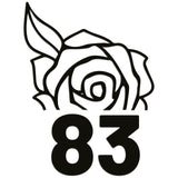 Wheelie Bin Caddy Recycle Home Decor Rose House Number Sticker Label