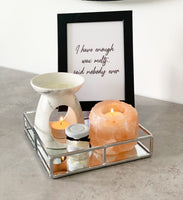 I Have Enough Wax Melts Said Nobody Simple Wall Humorous Home Decor Print