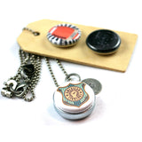 Football | Aromatherapy Locket Necklace