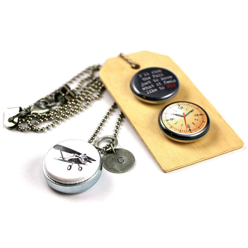 Gotta FLY Necklace | Diffuser Locket