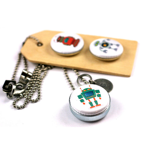 ROBOT Love | Aromatherapy Locket Diffuser Necklace