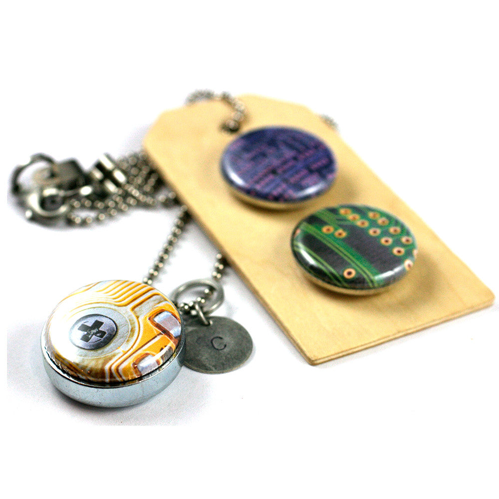 Computer Geek | Aromatherapy Locket