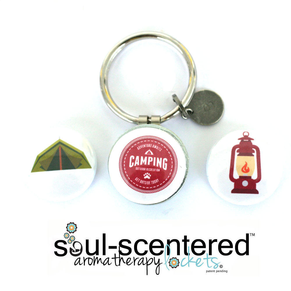 Aromatherapy Keychain | Intents Camping Gift