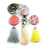 Tassel Aromatherapy Locket | Diffuser Necklace - Colorburst
