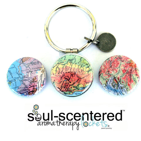 Aromatherapy Keychain | On the MAP