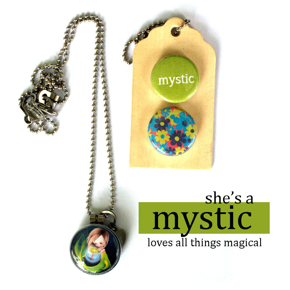 MYSTIC | Archetype Magnetic Diffuser Necklace