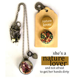 NATURE LOVER | Archetype Magnetic Diffuser Necklace