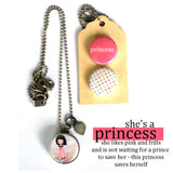 PRINCESS | Archetype Magnetic Diffuser Necklace