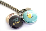 FOLLOW YOUR HEART | Aromatherapy Locket