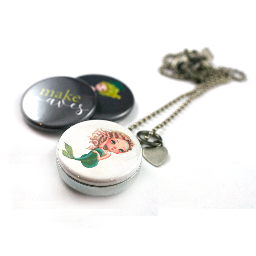 Mermaid Locket | Diffuser Necklace