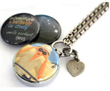 Aromatherapy Locket | Astrology Sign LEO