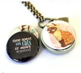 Time Spent With CATS | Aromatherapy Locket