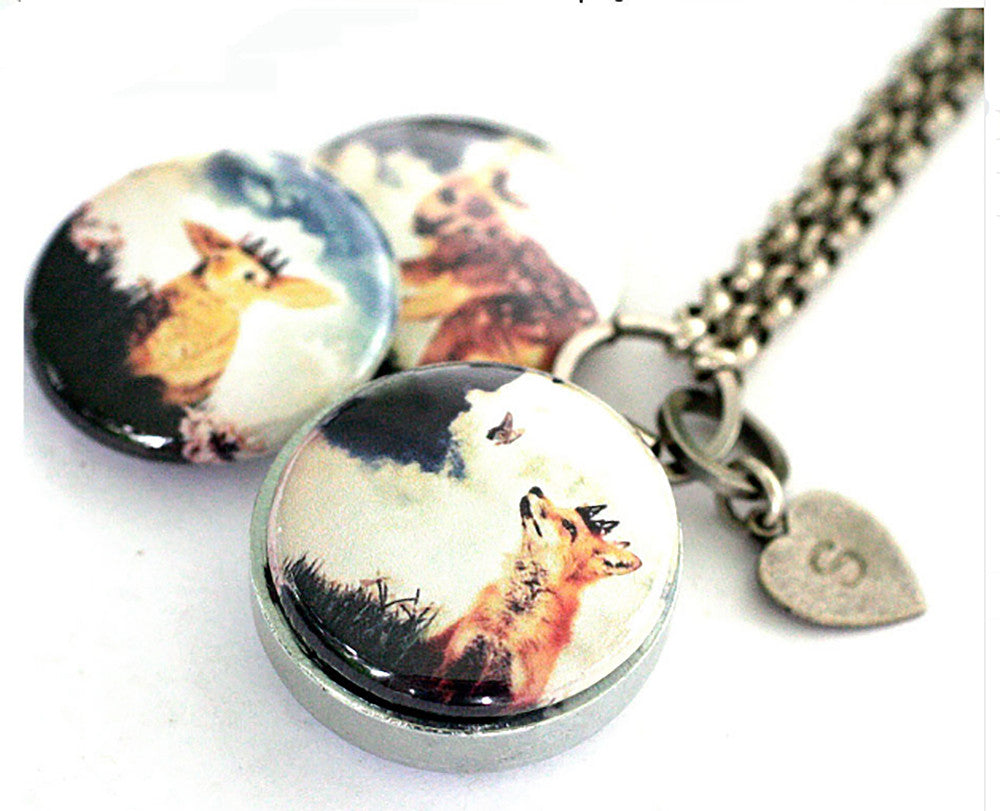 The FOREST Princes | Aromatherapy Locket