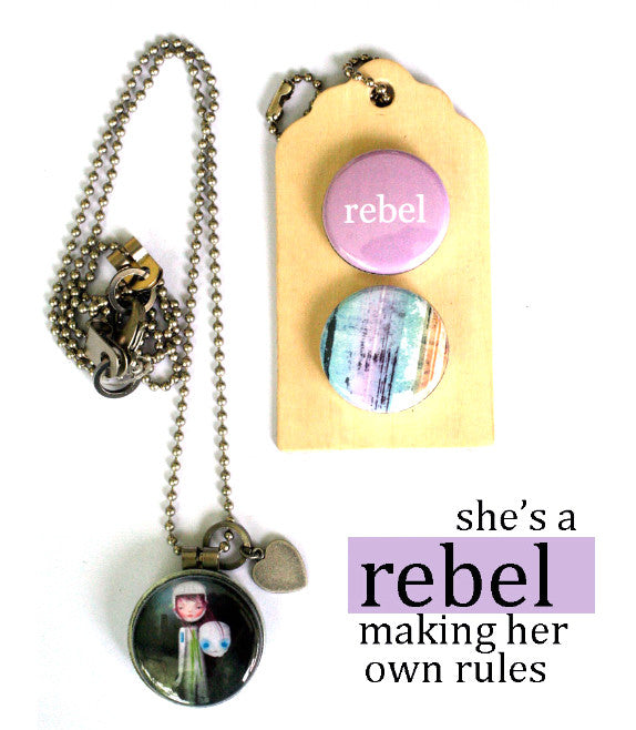 REBEL | Archetype Magnetic Diffuser Necklace