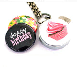 Birthday Cupcake | Aromatherapy Locket