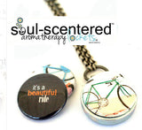 IT'S A BEAUTIFUL RIDE | Magnetic Diffuser Necklace