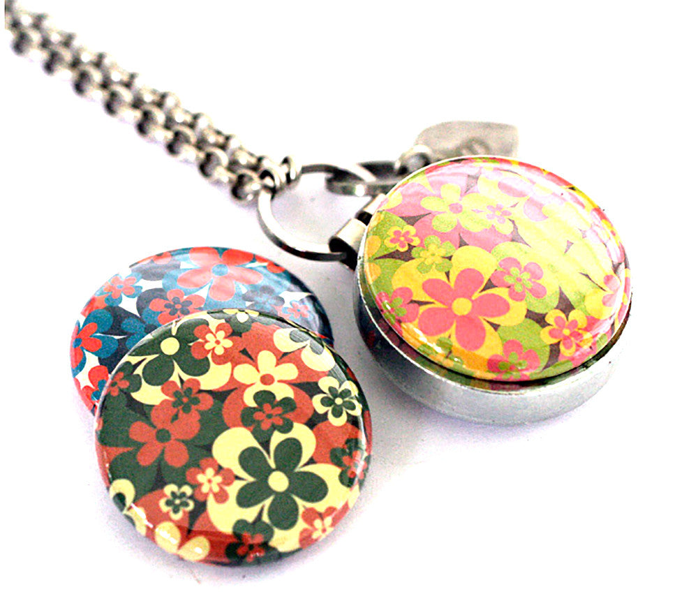 Flower Power | Aromatherapy Locket