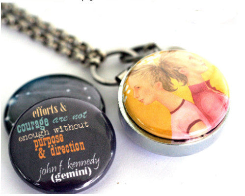 Aromatherapy Locket | Astrology Sign GEMINI